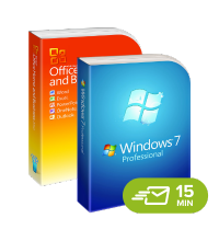 Windows 7 Professional + Office 2010 Home and Business