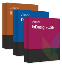 Print Design Package (InDesign CS6 + Illustrator CS6 + Photoshop CS6)