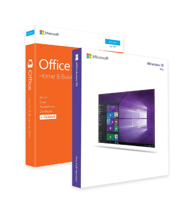 Windows 10 Pro + Office 2016 Home and Business