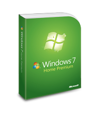 Windows 7 Home Premium, physical license