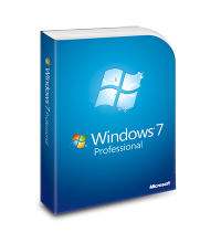 Windows 7 Professional, physical license